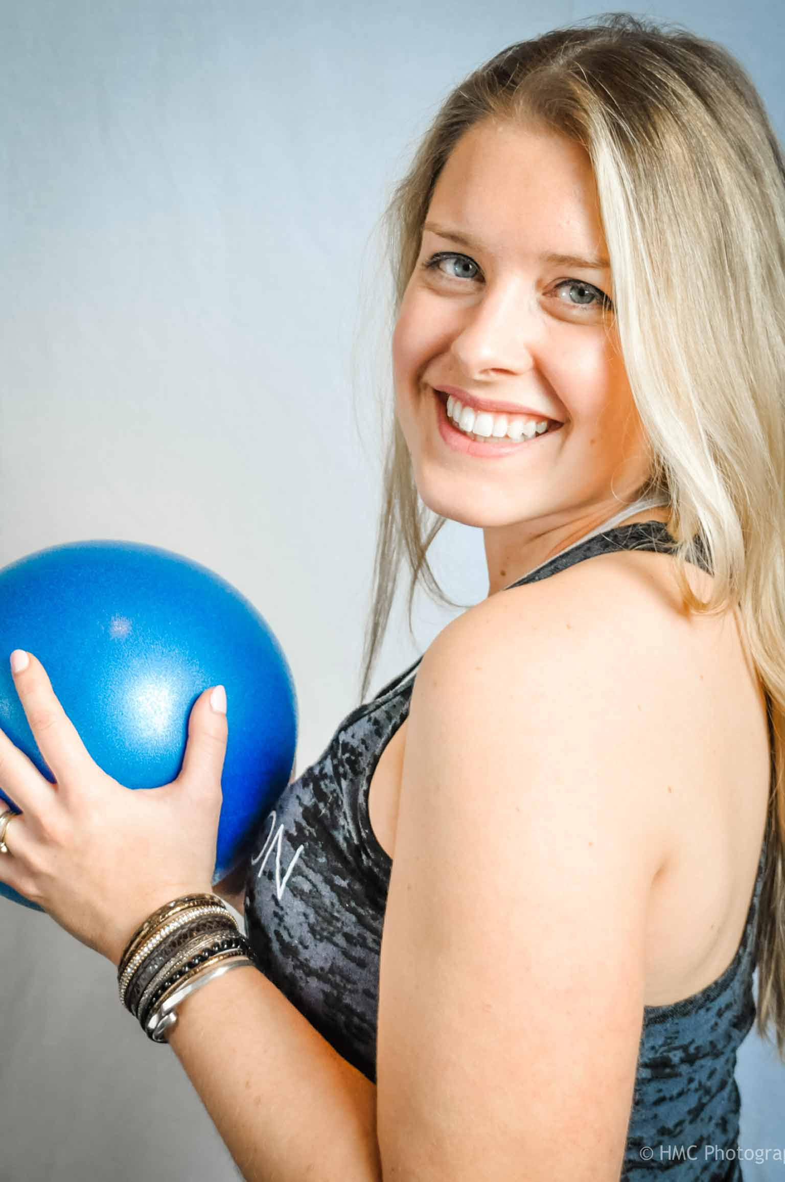 Sarah Foss is an instructor at Precision Pilates
